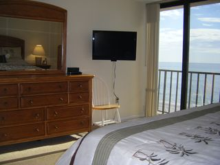Madeira Beach condo photo - The Gulf of Mexico at your feet for sounds of the surf while you cuddle