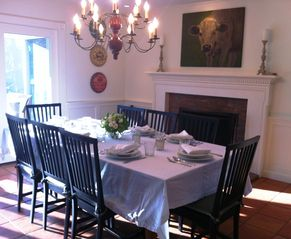 Rhinebeck house photo - Dining Room Perfect for Entertaining