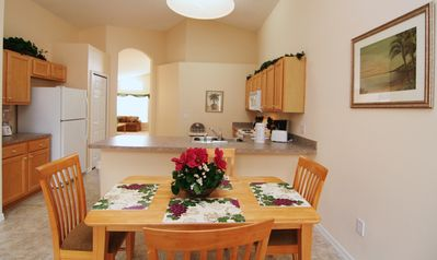 Emerald Island house rental - dining-1