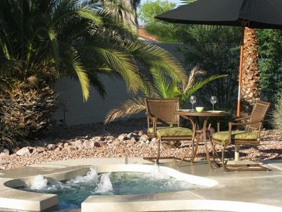 Heated Spa - Great for evening relaxation after a day of golf or shopping.