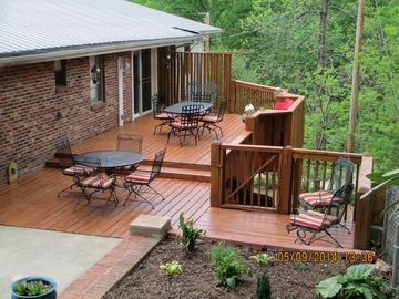 Bryson City house rental - Ahhh......Nature's Corner!