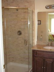 Seaside Heights condo photo - On suite bath. Granite countertops.