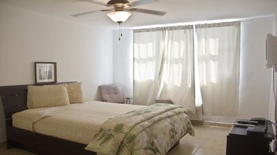 Master Bedroom with Cable TV, Queen Pillow Top Mattress, AC, Ceiling Fan,