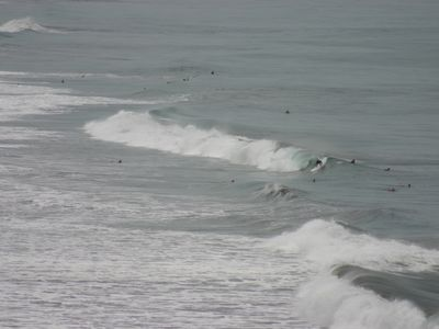 One of the top Costa Rican surfing spots near Casa d'Amis One and Two