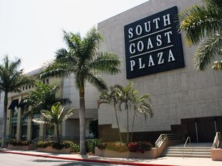 Santa Ana house photo - South Coast Plaza shopping mall