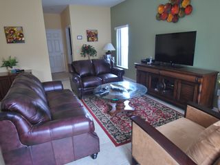 Kissimmee villa photo - Family room with 3D HDTV and XBox Game Console