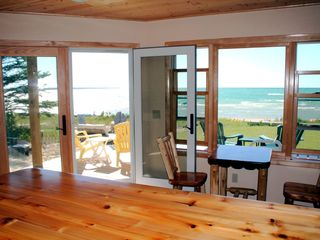 Mackinaw City house photo - Kitchen View