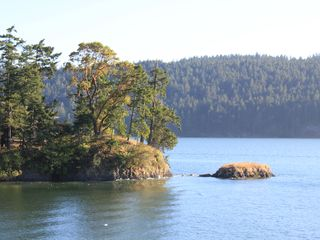 Pender Island house photo - an amazing view right out the backyard!