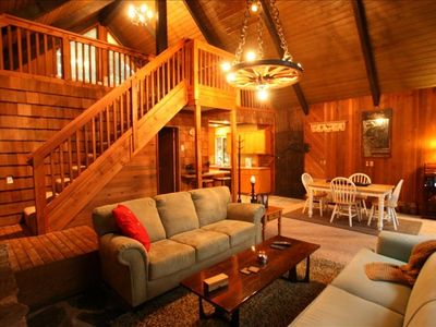 Mount Baker chalet rental - Vintage Mount Baker Cabin! Mountain views and walk to amenities! Relaxing!