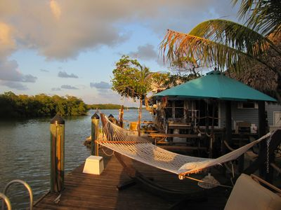 Key Largo mobile home rental - DOCKSIDE HAMMOCK FOR TWO