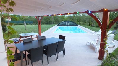 House 8 persons with pool, 2 steps of Cordes sur Ciel, 20 minutes from Albi