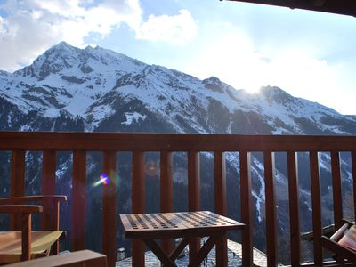 Sainte Foy Tarentaise apartment rental - Balcony View