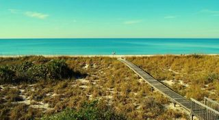 Little Gasparilla Island house photo - View on the Gulf of Mexico from Upper Porch