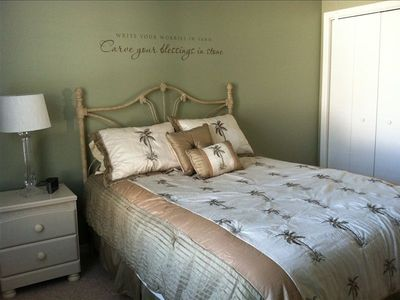 Queen-sized Bed in Guest Room