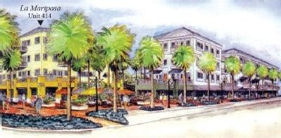 Architectural rendering of the Gulf Place community.