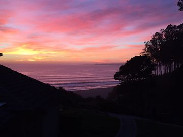 La Selva Beach condo rental - View from bedroom balcony!!! Gorgeous