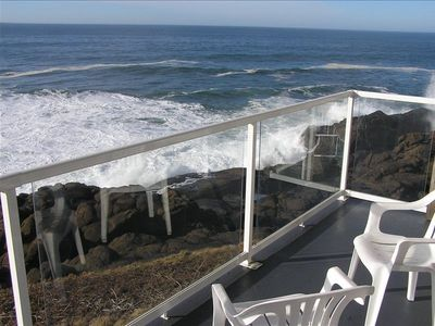 Beautiful Ocean Views from the Deck