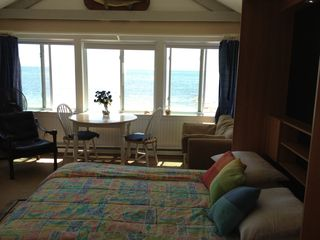 Yarmouth cottage photo - Panoramic ocean views and waves will rock you to sleep