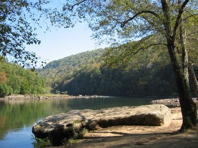 Visit The Confluence Of The Gauley & Meadow Rivers For Fishing & Swimming
