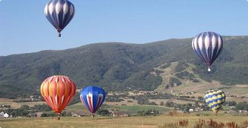 Go Hot air Ballooning Year Round