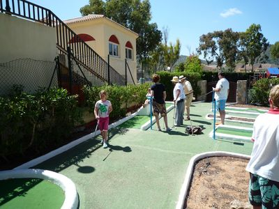 Los Molinos villa rental - Crazy golf