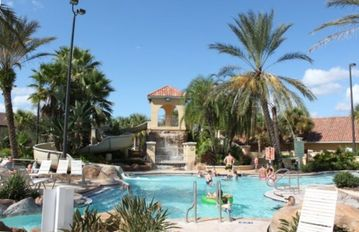Regal Palms Resort & Spa has the best clubhouse pool and waterpark in the area!