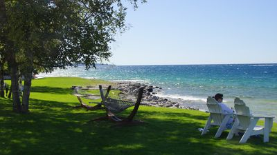 Located on Little Traverse Bay in Bay Harbor