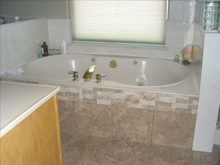 Albuquerque house photo - Master bath with jetted tub and