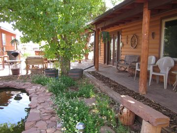 Apple Valley cabin rental - Oasis in the desert of Color-Country