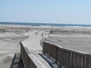 Wildwood Crest condo photo - Walk way to beach