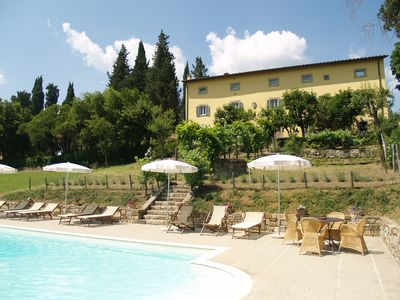 Villa with private heated pool in Tuscany, in the Casentino valley, Arezzo