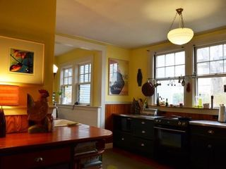 Bar Harbor house photo - Spacious kitchen/breakfast room balances modern convenience with charm!
