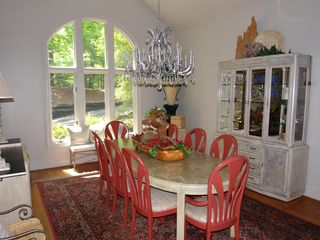 Big Canoe house photo - Spacious dining area seats 12, kitchen seats 13 informally, sunroom seats 4 more
