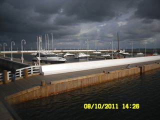 Sopot apartment photo - yacht marine at the pier