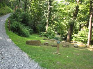 Bryson City cabin photo - Creekside Trail - easy access to Alarka Creek