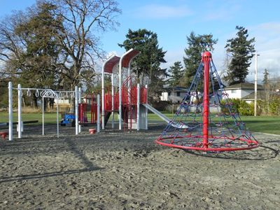Blair Park is less than 5 minutes walk, with a playground & basketball court.