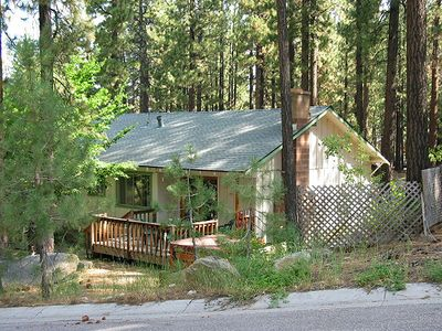 Ruby Way summer shot, deck, private hot tub, National Forest Land uphill