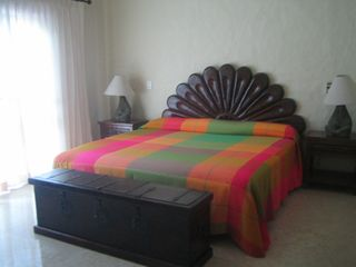 Puerto Vallarta condo photo - Master bedroom with walkout to terrace.