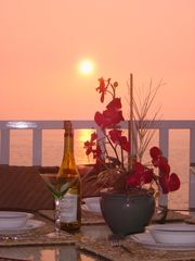 Kailua Kona condo photo - Best sunsets in all of Hawaii!