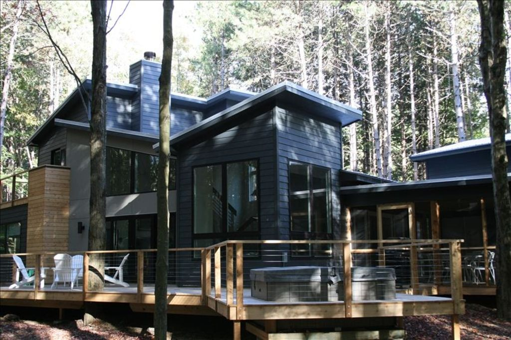 Secluded Modern Home 1 Block From Lake Michigan 3 Br Vacation House For Rent In Southwest
