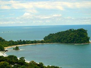 Manuel Antonio villa photo - Manuel Antonio public beach, the water is 86 degrees all year round!