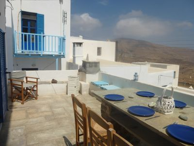 A Great House with a View to the Aegean Sea