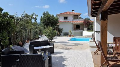 Beautiful detached villa with private pool, wi-fi, garden, games room with pool