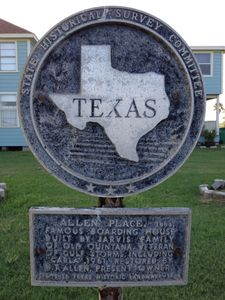 Historical Marker out front