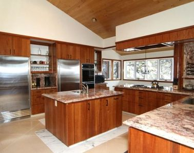 Incline Village house rental - Chef's Kitchen with Granite Countertops and New Appliances!