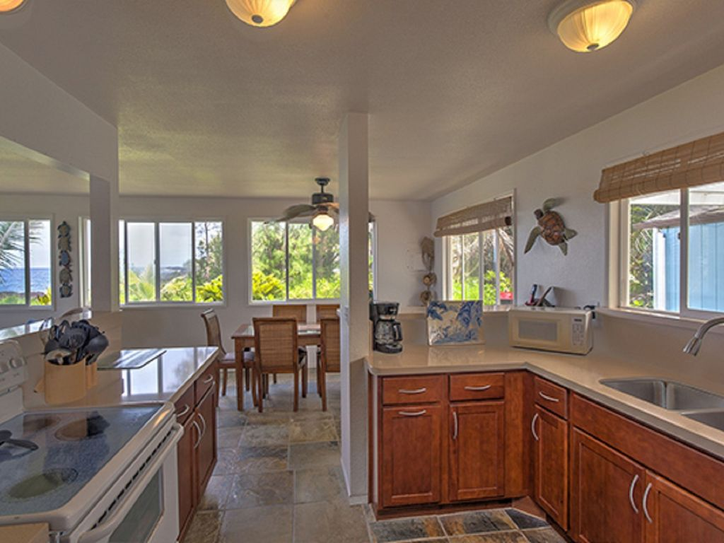 Open newly remodeled kitchen with views and more views!