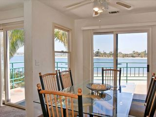 Mission Beach house photo - Upper unit - light and bright open floor plan