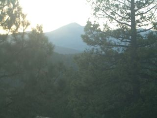 Ruidoso chalet photo - View Off Deck of Sierra Blanca