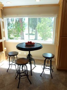Rustic Bar Table and Stools