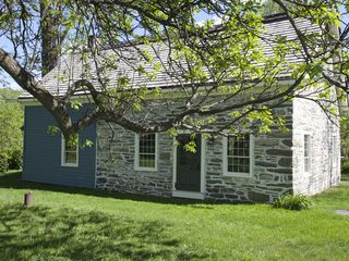 Main house from North - Hudson Highlands farmhouse vacation rental photo